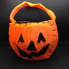 Pumpkin Felt Treat Bag for Halloween