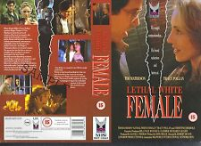 Lethal White Female, Tim Matheson Video Promo Sample Sleeve/Cover #11462