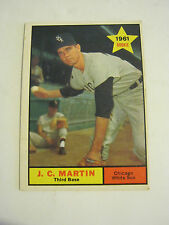 1961 Topps #124 J.C. Martin Rookie Baseball Card, Good Cond (GS2-b7)