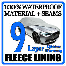 9 Layer Car Cover Breathable Waterproof Layers Outdoor Indoor Fleece Lining Fiv