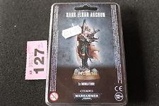 Juegos taller Warhammer 40k Eldar oscuro Archon BNIB Nuevo Sellado Wh40k