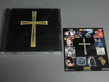 OZZY OSBOURNE Japan 2 CDs with STICKER, THE OZZMAN COMETH