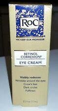 ROC Retinol Correxion EYE CREAM .5 oz Dark circles crows feet wrinkles Puffiness