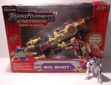 TRANSFORMERS : SIX SHOT FIGURE FROM THE ENERGON ROBOTS IN DISGUISE BY HASBRO