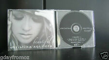 Christina Aguilera - Beautiful 3 Track CD Single Incl Video