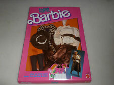 NEW ON CARD BARBIE CITY STYLE FASHIONS OUTFIT SET NO 4433  MATTEL 1987 BROWN NIB