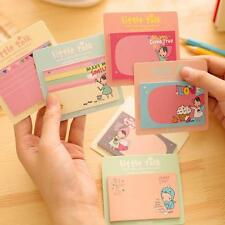 1 Pcs Sticker Bookmark Notepad Post Marker It Memo Girls Flags Sticky Notes Book