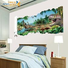 Jurassic World Dinosaur Scroll Vinyl Mural Wall Decals Sticker Kids Room Decor C