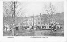 Cairo New York Maple Lawn House Street View Antique Postcard K43362