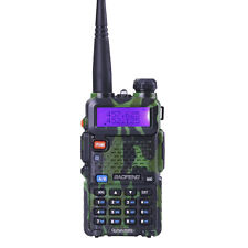 USA Stock Baofeng UV-5R Walkie Talkie Dual-Band DTMF 2 Way Ham Radio Camouflage