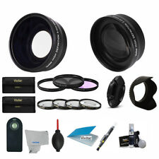 52MM Lens & Filter Kit for AF-S DX Zoom-Nikkor 18-55mm f/3.5-5.6G ED II (21PCS)