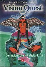 VISION QUEST - Der indianische Weisheits-Tarot - KARTEN & BUCH SET - NEU