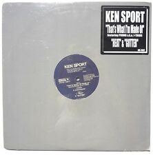 SEALED KEN SPORT: That's What I'm Made Of LP ORIGINAL RECORDS OR002 US 2000 12""
