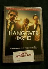 NEW The Hangover Part 3 dvd/2 Disc Special Edition Part III Comedy Galifianakis