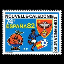New Caledonia 1982 - Football World Cup Spain 82 Soccer Sports - Sc C185 MNH