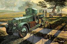 Roden 801 Rolls-Royce British armored car, Pattern 1920 Mk.I 1/35
