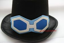 One Piece Luffy Brother Sabo Tall Hat Cap Glassess Costume Accessory