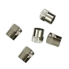 HOTSale 5PC Tyre Tire Dust Caps Wheel Air Valve Stem Screw Cover Stainless steel
