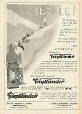 W0276 Apparecchi Fotografici VOIGTLANDER - Pubblicità 1930 - Advertising