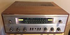 FISHER 800-C TUBE RECEIVER ON ORIGINAL WOOD CASE ** ONE OWNER **