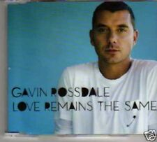 (187M) Gavin Rossdale, Love Remains the Same - DJ CD