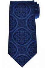 Stefano Ricci Tie Silk 58 1/4 x 3 5/8 Blue Geometric 13TI0462 $275
