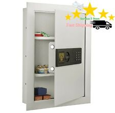 Fireproof Safes Cash Electronic Hidden Lock Wall Jewelry Superior Home Security