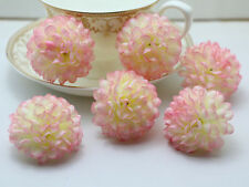 10pcs/Lot Wholesale NEW Daisy Artificial Silk Flower Heads Wedding pink
