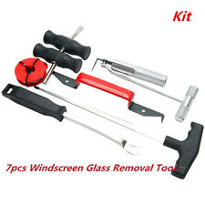 7×Wind Glass Automotive Remove Car Windshield Windscreen Removal Tool Repair Kit