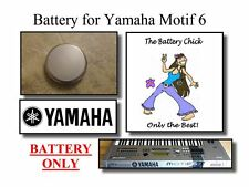 Battery for Yamaha Motif 6 Series Synths - Internal Memory Replacement Battery