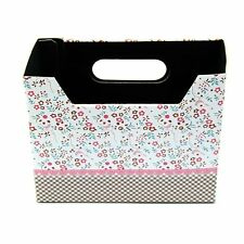 2pcs Cosmetic Stationery DIY Paper Board Storage Box Desk Decor Organizer ED