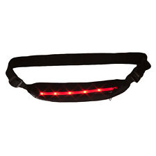 NWT New Balance LED Slim Runner Fitness Jogging Money Waist Belt Safety Light