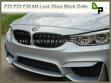 BMW M4 Sport Look Gloss Black Front Grille Grill For F32/F33/F36 428i 435i 14-15