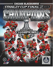 2013 BLACKHAWKS STANLEY CUP CHAMPIONS COLLAGE PHOTO