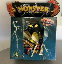 1990 #MORRISON #MATCHBOX MONSTER IN MY POCKET 45 sealed pocket+ RARE MOTHER BOX