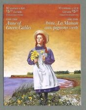Canada 2008 LIBRETTO PIEGATA-ANNA DI GREEN GABLES - (10 @ 52c) - completa Gomma integra, non linguellato