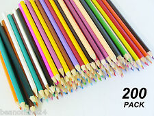 Bulk 200 Pack Coloured Pencils