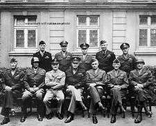 "Senior American commanders of World War II 8""x 10"" Photo Picture #139"