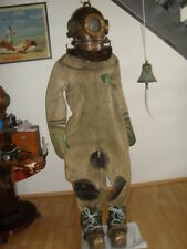 Rare Soviet Original russian3-bolt Diving Helmet,suit,boots(cascue,escafandra)