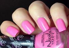 NEW! Nicole By OPI nail polish lacquer CARNIVAL COTTON CANDY ~ PINK