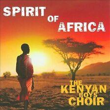Spirit of Africa * by The Kenyan Boys Choir (CD, Jun-2009, Decca)