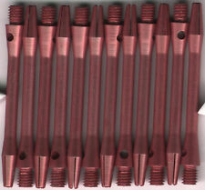 2in. 2ba Pink Aluminum Dart Shafts: 3 per set