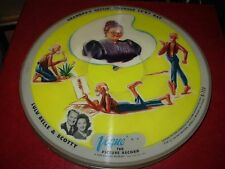 """LULU BELLE & SCOTTY time will tell / grandpa ( pop ) 10"""" picture disc VOGUE 720"""