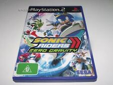 Sonic Riders Zero Gravity PS2 PAL Preloved *Complete* Free Post