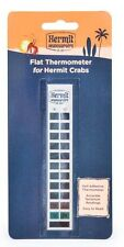 FLUKER'S HERMIT CRAB FLAT THERMOMETER STICK ON FREE SHIPPING IN THE USA ONLY