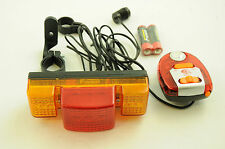 BIKE INDICATOR LIGHTS, REAR BRAKE LIGHT & MULTI SOUND SIREN CARRIER MOUNT