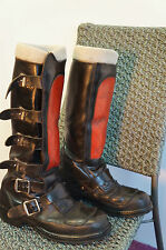 VINTAGE LEWIS LEATHERS MOTORCYCLE BOOTS SIZE 7