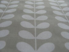 Orla Kiely Linear Tiny Stem Cloud Grey 20cm / 50cm cotton Fabric