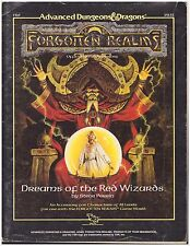 Forgotten Realms FR6 (Dreams of the Red Wizards) -1988 TSR  - No Map