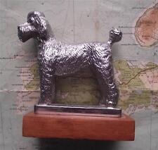 Vintage Car Mascot Badge : Quality Heavy Poodle Chrome Plate possible  Le Jeune